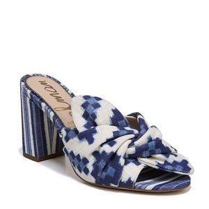 ❤️ HP Sam Edelman Aida Multi-color Blue High Heels